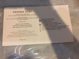 "SFERRA  ""DENINA 3395"" 3PC F/QUEEN DUVET /2PC S/SHAMS  ICE bnip $1295. - $469.92"