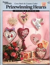 7 Prizewinning Hearts BH&G Cross Stitch Pattern Booklet #77 - $3.57