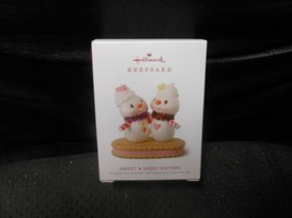 "Hallmark Keepsake ""Sweet & Sassy Sisters"" 2018 Ornament NEW   - $17.57"