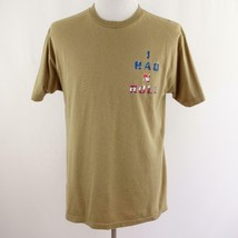 Clint Black I Raq N Roll Tan Graphic T Shirt Mens Sz L USA - $26.03