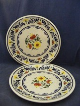 "2 Wedgwood Breton 10.5"" Dinner Plates Very Good Condition - $19.95"