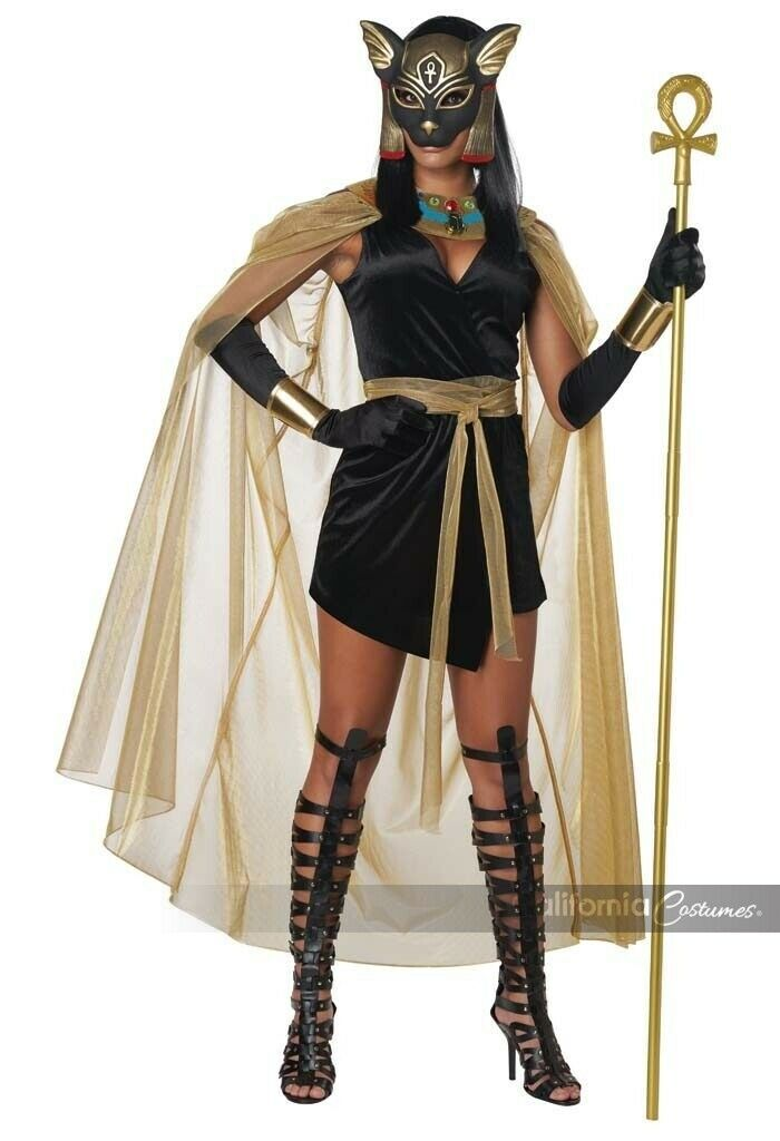 Primary image for California Costumes Félin Déesse Bastet Égyptien Adulte Halloween Costume 01450