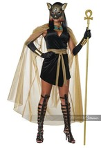 California Costumes Félin Déesse Bastet Égyptien Adulte Halloween Costum... - $42.14