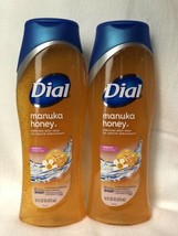 Dial Manuka Honey Nourish Body Wash 16 oz (473ml), Lot of 2, New - $16.13