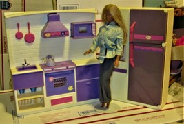 Doll House Kitchen & Doll By Geoffrey - $35.00