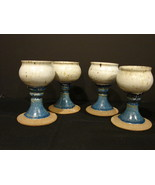 Set of 4 Blessing Cups/Ceramic Chalices - $20.00