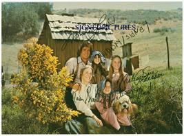 The Little House On The Prairie Cast Signed Autograph Rp Photo Michael Landon + - $18.99