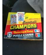 1984 donruss baseball  champions unopened wax box - $27.99