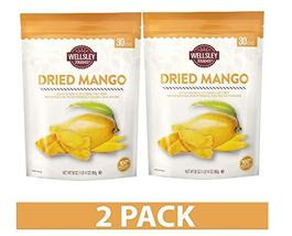 Wellsley Farms Dried Mango, 30 oz. | 2 PACK - $44.02
