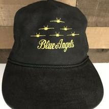 Vintage Blue Angels United States Navy Fighter Jet Hat Rare - $28.05
