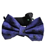 """Halloween Spider Bows for dog collars, 3"""" 4"""" or 5"""" long, Purple Bow tie ... - $5.25+"""