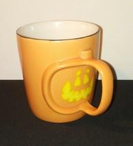 Halloween Jack O'Lantern Pumpkin Starbucks Mug / Barrista / 2003 Coffee Tea - $25.21