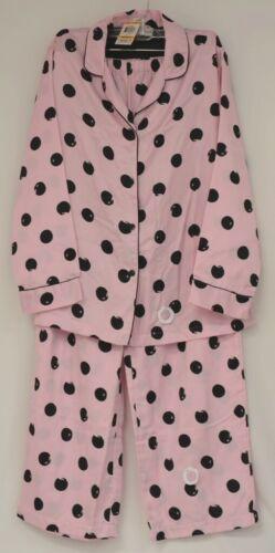 Morgan Taylor Intimates Pink Dot Pajama Set Adult Medium Grade B
