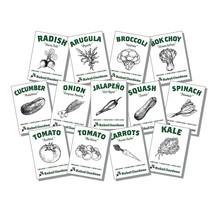 Organic Vegetable Seeds - 13 Varieties of Non GMO, Non Hybrid, Heirloom,... - $15.80