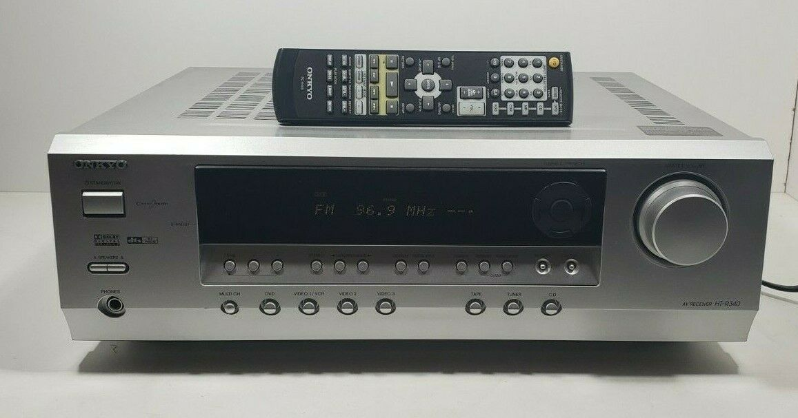 ONKYO AV Receiver HT-R340 With Remote bundle Tested/Working