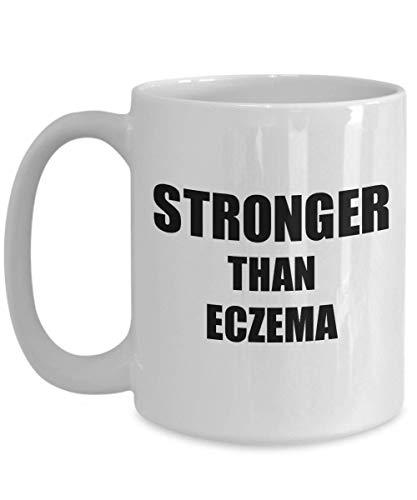Primary image for Eczema Mug Awareness Survivor Gift Idea for Hope Cure Inspiration Coffee Tea Cup