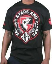 Famous Stars & Straps X Msa Honor Manny Santiago Skate Camiseta Negra Nwt