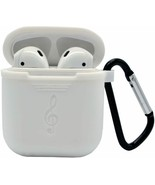 AirPods Case Silicone Cover and Skin Shock Proof with Portable Carabiner... - $5.49