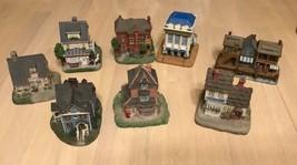 International Resources 10 Miniature Houses - $39.95