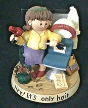 """Zingle-Berry """"Hey it's only Hair"""" Resin Figurine hair stylist gift - $25.00"""