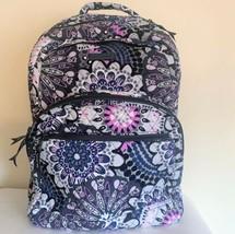 Vera Bradley Essential Large Backpack Laptop Bag ~ Mimosa Medallion Pattern NWT image 2