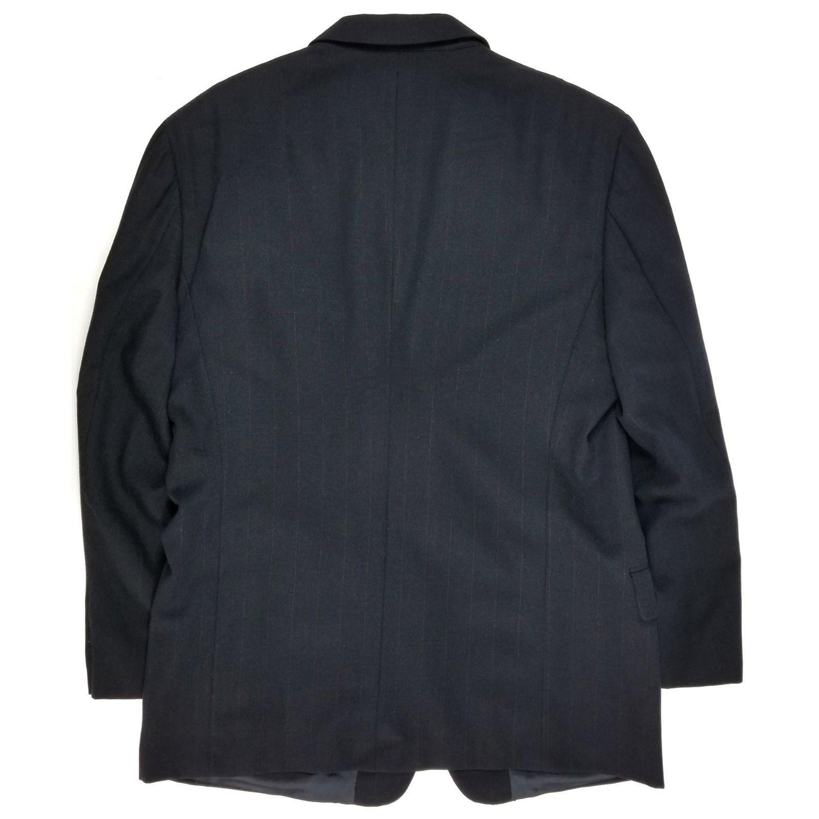 Calvin Klein Blazer Size 42 Regular Mens Striped Wool Suit Sport Jacket USA