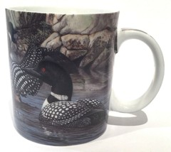 Mallard Coffee Mug Cup HONEYMOON COVE 2005 Lambson Wonderland Graphics R... - $10.35