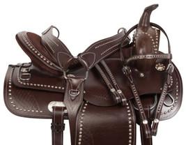 Gaited Horse Saddle Used Parade Show Pleasure Trail Western Tack Set 15 ... - $284.61