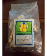 AMEROCK BP7328RW DISTRESS WHITE BRASS 3/8 INSET FACE MOUNT HINGE SELF CL... - $3.96