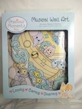 Precious Moments Noahs Ark Baby Nursery Musical Wall Art Decorations 6pc... - $14.26