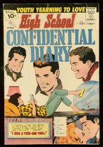 HIGH SCHOOL CONFIDENTIAL DIARY #9 1961-CHARLTON-10 CENT VG - $55.48