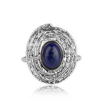 Lapis Lazuli Gemstone Oxidized 925 Sterling Silver Women's Rings Jewelry - $20.21