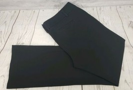 Express Dress Pants Sz 12 Regular Women Black Career Stretch Work Trouser - $16.83
