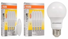 SYLVANIA, 60W Equivalent, LED Light Bulb, A19 Lamp, 4 Pack, Soft White,... - $12.35