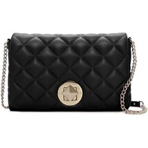 NWT Kate Spade Gold Coast Meadow Flap Leather Shoulder Chain Bag BLACK A... - $208.00