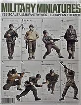 Tamiya Military Miniatures Kit 35048 1/35, 8 US Infantry Western Europe Theater image 1