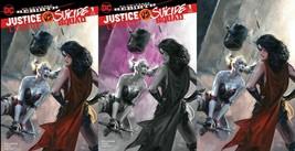 Justice League vs Suicide Squad 1 DC Rebirth Dell'Otto Rare 3 Variant Set  - $75.00