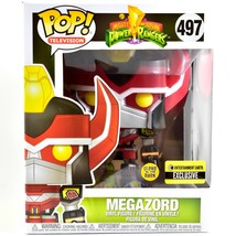 "Funko Pop Power Rangers 6"" Megazord Entertainment Earth Glow in Dark Exclusive image 1"