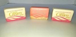 Vtg AVON  Cream Soap in Petal Pink 3 Bars 3 oz each Lot of 3 NOS HTF  1981 - $14.95