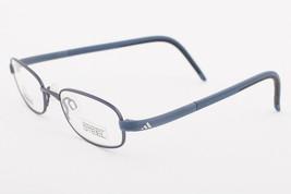 Adidas AD999 40 6060 LiteFit Blue Eyeglasses AD999 406060 45mm - $68.11