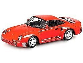MINICHAMPS 1:43 PORSCHE 959 1987 RED 400062521 - $46.45
