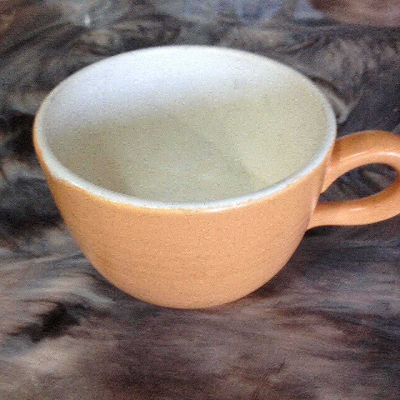 VINTAGE FRANCISCAN EARTHENWARE SIERRA SAND COFFEE CUP - $3.99