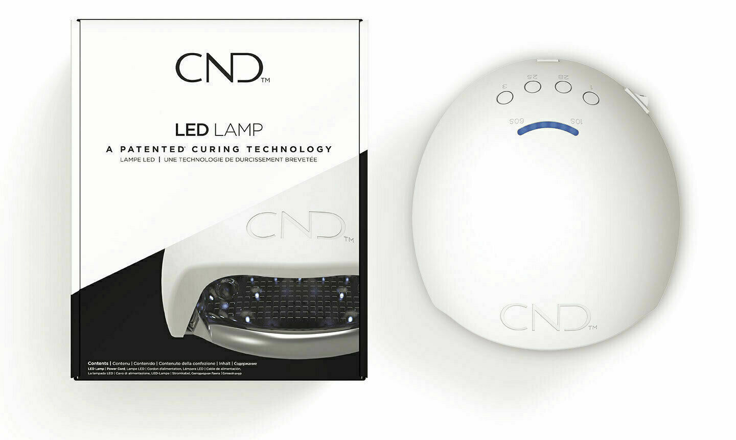 Primary image for CND Professional LED Light Lamp Patented Curing Technology NEW - Great Deal