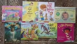 8 David Catrow books I Wanna Iguana, Cinderella Skeleton, Are You Quite Polite? - $12.99