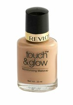 New Revlon Touch & Glow Moisturising Makeup Ivory Mist 20 ml (pack of 1) - $14.34