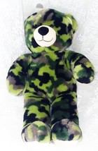 "Build-A-Bear Camo Bear Plush Toy 17"" - Clean and Nice - EUC! - $18.69"