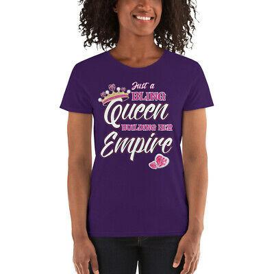 Just a Queen Building Her empire Women's short sleeve t-shirt Jewelry