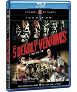The Five Deadly Venoms Blu-ray- Hong Kong RARE Kung Fu Martial Arts Acti... - $46.74