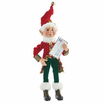 "Raz Imports 12"" Posable Elf with Letter to Santa - $34.65"