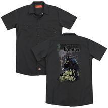 Batman - Cover #516 (Back Print) Adult Work Shirt - $44.99+